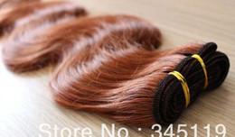 Oxette malaio on-line-Oxette # 33, mel loira # 27, vinho # 99J, # 30 cor extensões de cabelo virgem malaio onda do corpo do cabelo humano 4 pacotes