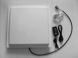 2019 cartes de programmation ISO18000-6c uhf rfid lecteur écrivain 10 mètres de lecture distance 30 dbm 12 dbi antenne intégrée