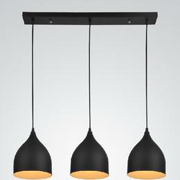 Wholesale Pendant Mounts Settings - Modern Fashional Northern European Style Pendant Llamp Fixtures,Black&Whit Dining Rooms Pendant Lights For Home Decor,3PCS SET