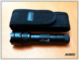 Wholesale xm l - New UltraFire WF-502B LED Flashlight 1000Lm 5-Mode CREE XM-L T6 LED Torch + Holster 18650 Free Shipping