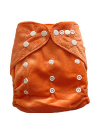 Wholesale Aio Minky Diapers - 2015 New Arrive 50PCS Plain Print Minky Cloth Diapers Reusable Nappy Covers Free Shipping