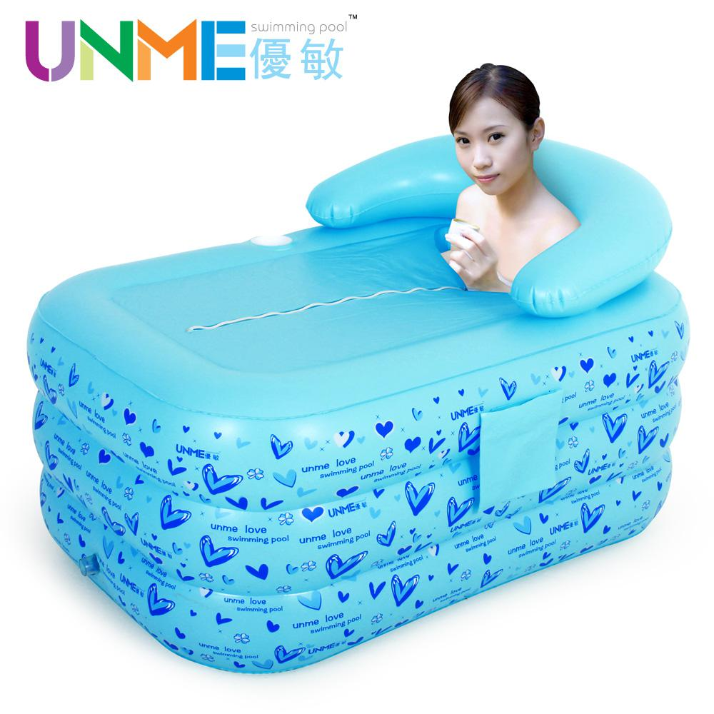 2018 Thickening Adult Inflatable Bathtub Thermal Folding Bathtub ...