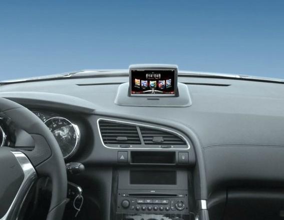 2019 PEUGEOT 3008 Car GPS+Car DVR+8G U Disc Not Remove Vehicle CD Player  HD1080P Car Navigation Movie Driving Video Recorder PHONE BOOK BT IGO From