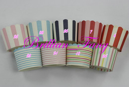 Wholesale Sell Muffin Cups - Hot selling 3000pcs Mixed Large Round MUFFIN Paper Cake Cup Cake case Muffin Cups