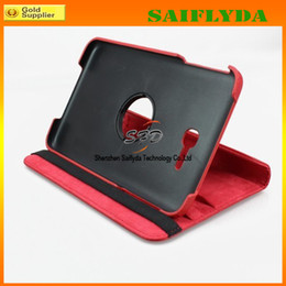 Wholesale Case For Galaxy Tab3 - 360 Rotating leather Case for Samsung Galaxy Tab 3 7 inch Lite 7.0 T110 Cover Stand leather case