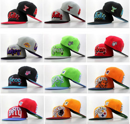 Wholesale Snap Back Cap Sports Logo - Newest Snapback Caps 9FIFTY Snap Back Hats Brand Snapbacks Well Team Logo Caps High Quality Boys Girls Sports Caps Top Sale Athletic Hats