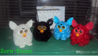 Wholesale Wholesale Furby Toys - Zorn Store-Furby doll electric Phoebe Wizard Multi-touch recording electronic pet plush toys Educational Toys Retail 1 set = 6 pcs Promotion