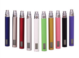Wholesale Ce6 Rechargeable - Hot EGo LCD Power Display Voltage Battery 650mah 900mah 1100mah Display Rechargeable Battery For CE4 CE5 CE6 Vivi Nova Atomzier
