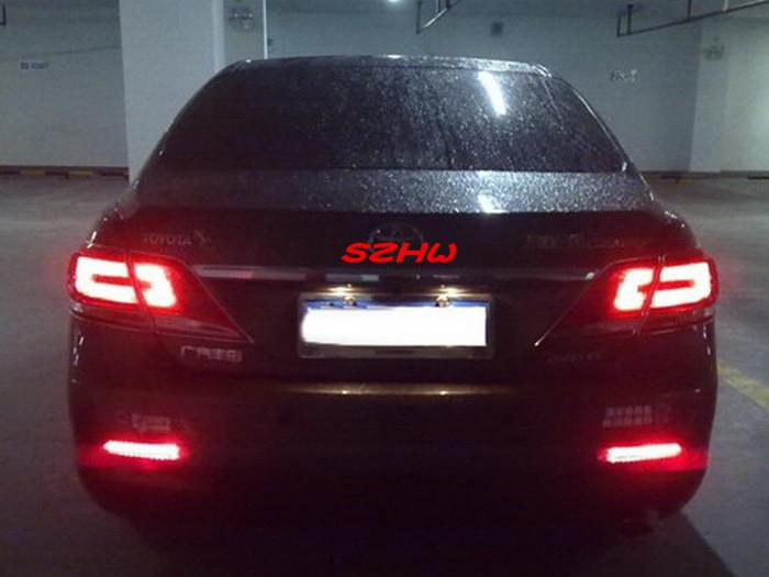 2018 Car Led Brake Light Led Rear Fog Light Case For