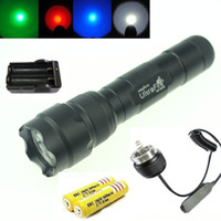 Professional, Ultrafire 502B Cree XML, 1 mode green red blue w...