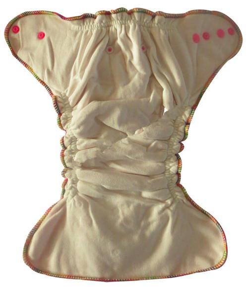2016洗浄プラスのベロア洗える赤ちゃんの布のおむつ+竹の綿を挿入送料無料