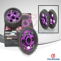 Wholesale Engine Timing - PQY STORE-Cam gear FOR B series DOHC ( b16 b18 ) ENGINE ALUMINUM PERFORMANCE ADJUSTABLE CAM GEAR