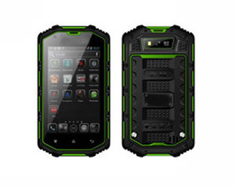 Wholesale Dual Sim Green - Original Hummer H5 Phone IP67 Waterproof Phone 3G GPS 4.0'' Screen MTK6572 Dual Core 1.3GHZ 512MB 4GB 5MP Camera Dustproof Shockproof