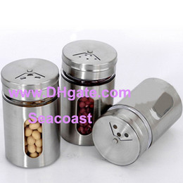 Wholesale Wholesale Cup Dispensers - Lowest Price 100pcs Toothpick cup Spice Jar Bottle Storage Seasoning Spice Dispenser Container Shaker Kitchen New Free FEDEX