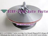 Wholesale Turbocharger Megane - Turbo CHRA Cartridge Core BV39 54399880027 54399700027 8200204572 For Renault Megane II 2003- Kangoo Scenic II Modus K9K-THP K9K THP 1.5L
