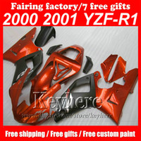 Wholesale motocycle accessories resale online - Fullset Motocycle accessories body fairings kit for YZF R1 YZFR1 Bodywork Fairing KIT body parts custom free with gifts