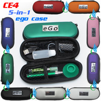 Wholesale wholesalers electronics for sale - Group buy Top quality eGo T CE4 Colorful Zipper in ego case electronic cigarette starter kit CE4 atomizer ego t battery e cigarette kit DHL free