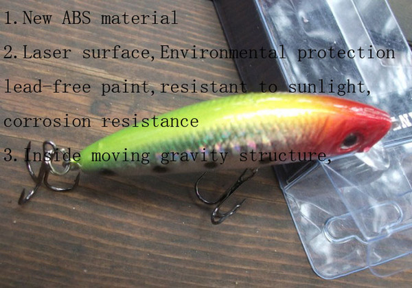 top popular fishing bait bionic bait 70mm 8.5g Saltwater Fishing Lure 20 pieces lot 2020