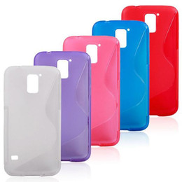 Wholesale Wholesale Galaxy Galaxys5 - Anti-Slip S Line Jelly Rubber Silicone Soft TPU Gel Cover Case Skin Shell for Samsung Galaxy S5 i9600 GalaxyS5 Cell Phone Cases Perfect Fit