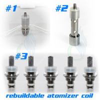 Wholesale Ce5 Ce4 Atomizer Core - Rebuildable Atomizer coil for CE4+ Vivi Nova Wick atomizer   CE5+ no wick   gs h2   mt3   protank ego Electronic Cigarette Clearomizer core