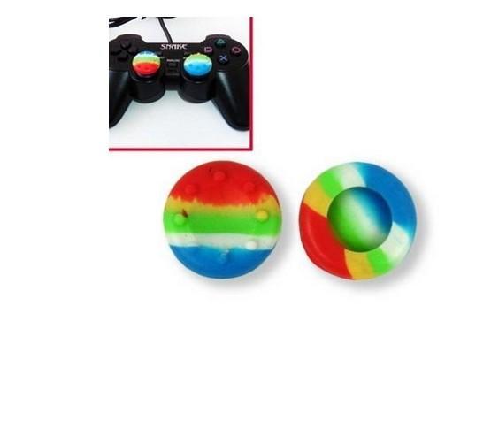 Microsoft Xbox One PS4 3DカラフルなコントローラCAPS/ LOT用のアナログスティックカバー