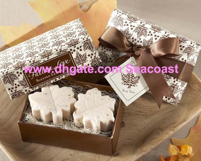 Pack Wedding Supplies Wedding Favor Gift Gifts Maple Leaf Soap Free ...