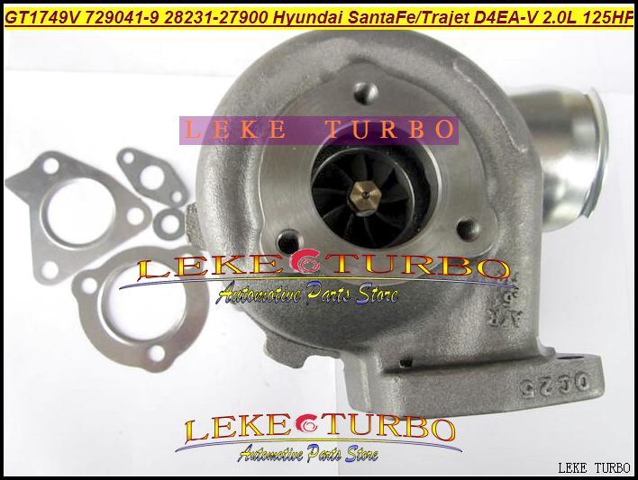 GT1749V 729041 28231-27900 729041-0009 Turbo Turbo voor Hyundai Santa Fe 2003-05, Trajet 2002- 2.0T D4EA-V 16V 2.0L diesel