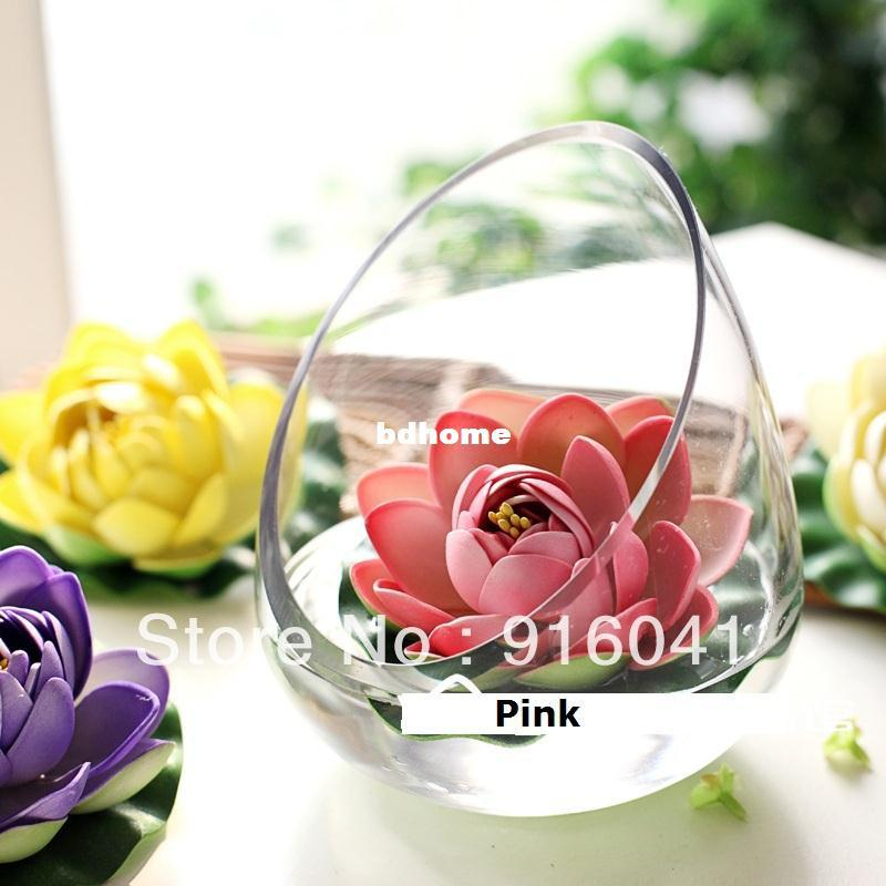 Pu Lotus Water Lily Home Decoration Artificial Flowers Wedding