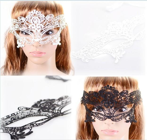 Sexy girl women cutout hollow lace mask veil prom eye butterfly halloween masquerade fancy dress christmas theatre Catwoman COSPLAY Masks