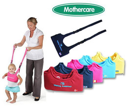Wholesale Toddler Vests - Mother Care Baby Walkers Toddler Walk Learning Assistant Chest Harness Soft Padded Vest Hot Free shipping 5 Colors