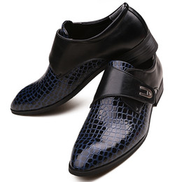 Wholesale Pump Wear - Groom Wedding Wear Shoes Cool Men's Prom Shoes Leather Casual Shoes NO:1310