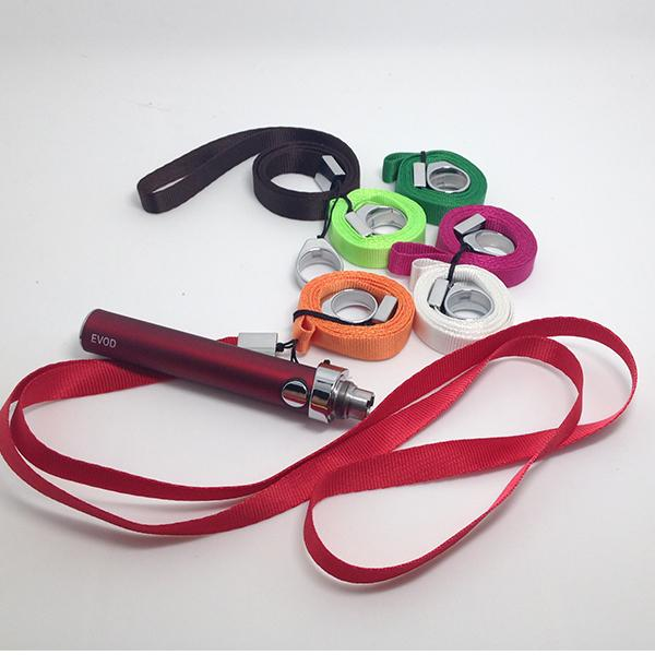 DHL free shipping ecig Necklace Top Quality evod Necklace evod Sling evod Lanyard evod necklace for EVOD Battery free shipping