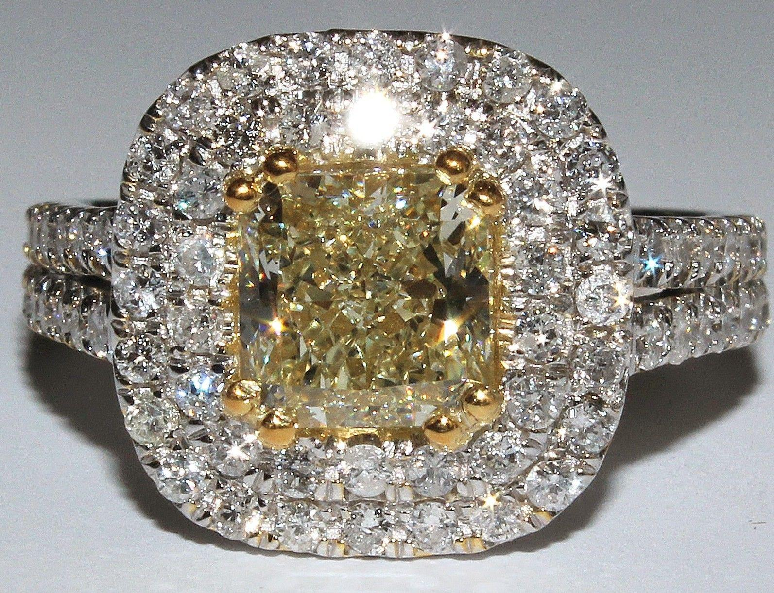 watch halo diamond radiant style ring pave g cut vintage engagement rings er sold carat