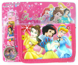 Wholesale Snow White Wallets - New Snow White watches + Purses Wallets , 20 pieces