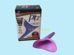 Wholesale Travel Female Urinals - Wholesale 600PCS Portable Camping Travel Female Women Urination Device Urine Urinal Funnel FUD