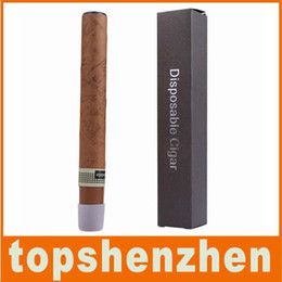 Wholesale Cigar Bags Wholesale - By DHL shipping e Cigar Disposable Cigar Electronic Cigarette 1300 Puffs Cigar flavor E cigarette vapor cigarettes