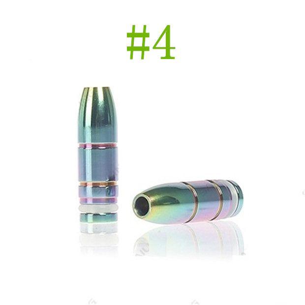 2014 New colorido 510 arco-íris dicas de gotejamento Metal Bocais para 510 DCT CE5 CE6 nova atomizador Clearomizer cigarro eletrônico