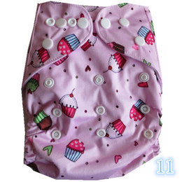 Wholesale Alva Baby Diapers - Hot 5PCS alva print AIO Size baby cloth diapers without inserts