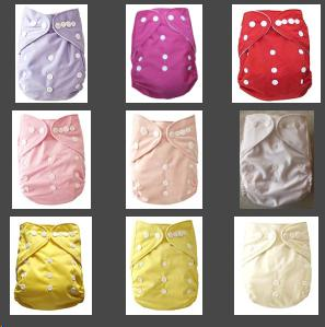 Wholesale - 5 Diapers +5 Inserts Baby Diapers Baby Cloth Diapers Suppliers Baby Diapering all in one size