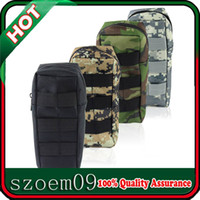 Wholesale Gear Pouch - Outdoor CS Games Tactical Gear Military Kettle Pack Molle Water Bottle Pouch Bag