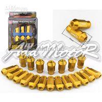 Wholesale D1 Spec Lug Nuts - Addmotor 20 X JDM D1 Spec Racing Lug Wheel Nuts Screw 1.25 Long Gold Nissan Mazda Suzuki CS027