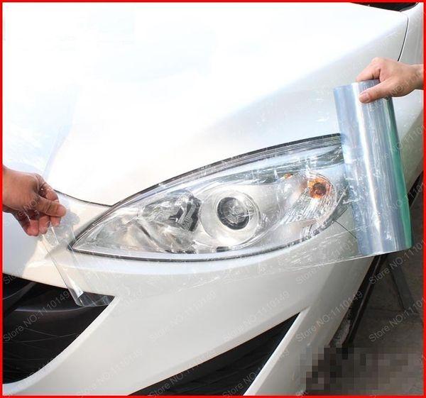 30cm x 200cm phare de voiture feu arrière teinte vinyle film autocollant feu de brouillard de voiture arrière lampe viny autocollants -13 couleur option