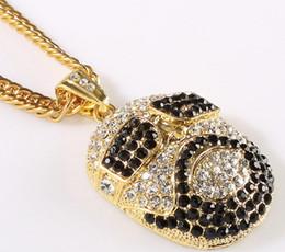 2019 oro ross Brand New Vintage Full Diamond Hip Hop Ross collar colgante 18 K oro / plata chapado color suprimido largo envío gratis rebajas oro ross
