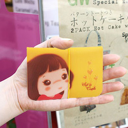 Wholesale South Korean Fashion Dresses - Japan and South Korea stationery section with yellow rubber band clip | card book card cute Niuzai 12 -bit card package free shipping Y633