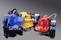 Wholesale Drink Hats - Free Shipping 1 Pcs Beer Can Holder Helmet,Drinking Hat,Drinking Helmet,Miq 1pcs