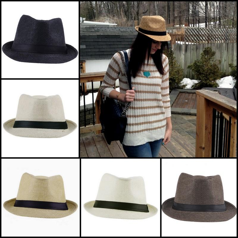 aec7be04 2019 Retro Unisex Straw Hats Cowboy Stingy Brim Hats Panama Fedora Caps  Beach Sun Hats Colors Choose ZDS*1 From Bestforever2000, $4.48 | DHgate.Com