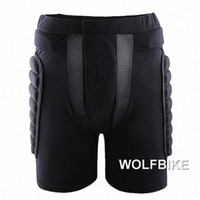 Wholesale Roller Protections - 1PCS WOLFBIKE Short Protective Hip Butt Pad Ski Skate Snowboard skating skiing protection drop resistance roller padded pants new arrival