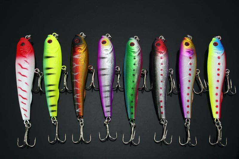 Lot30 Topwater Fishing Lues Bait 10.5g / 9cm