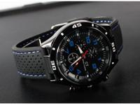 relojes de cuarzo movt al por mayor-Nueva llegada para hombre BLACK BIG DIAL reloj para hombre Deportes reloj de cuarzo Japón Movt envío gratis