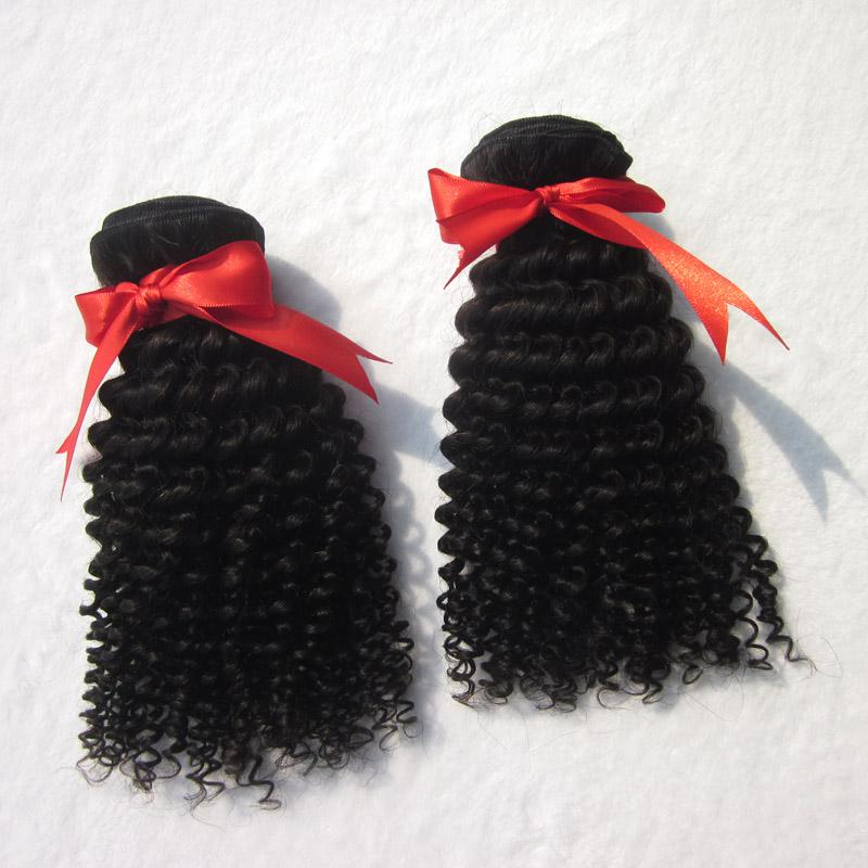 أعلى درجة 7a سعر المصنع الأفرو غريب مجعد موجة عميقة اللون الطبيعي غير المجهزة المنغولية عذراء الشعر نسج لحمة مزدوجة الشحن مجانا